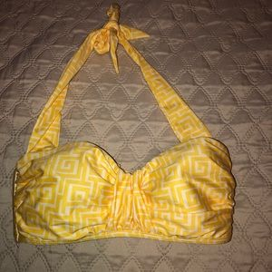 Antonio Melani Yellow Swim Top